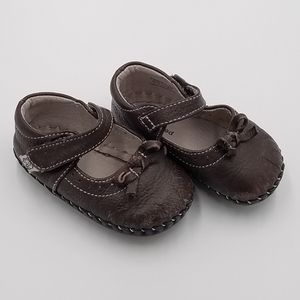 Pediped Brown Leather Mary Jane Sandals 6-12m 3T